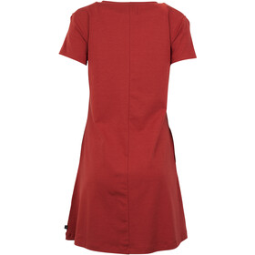 United By Blue Ridley Swing Vestito Donna, red rock